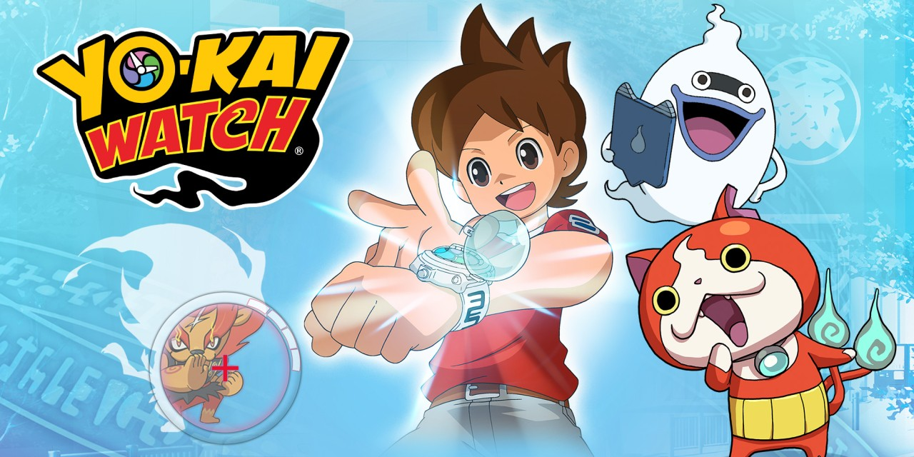 Yo kai watch nintendo 3ds juegos nintendo for Chambre yo kai watch
