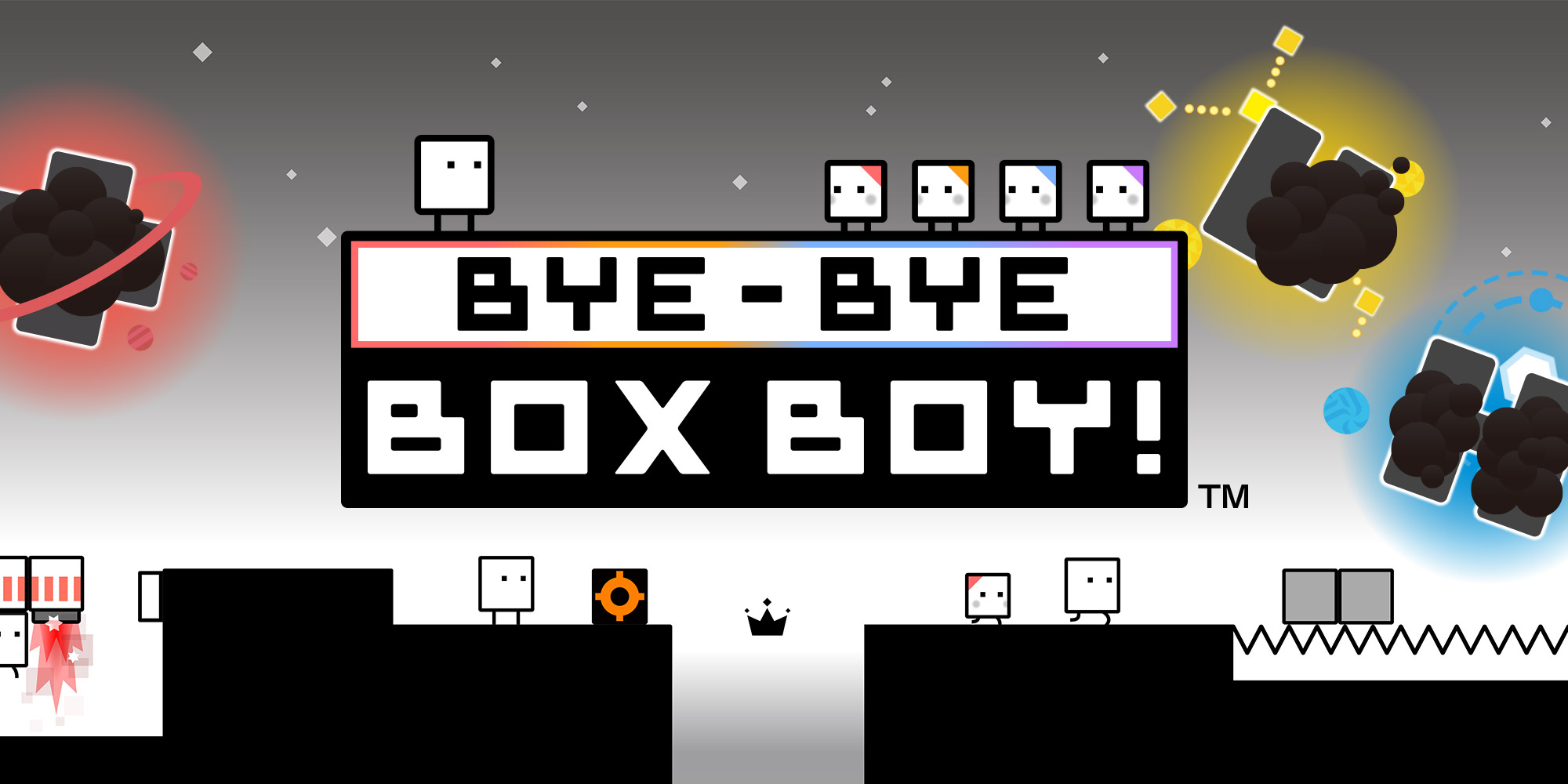 On Nintendo eShop now: BYE-BYE BOXBOY!