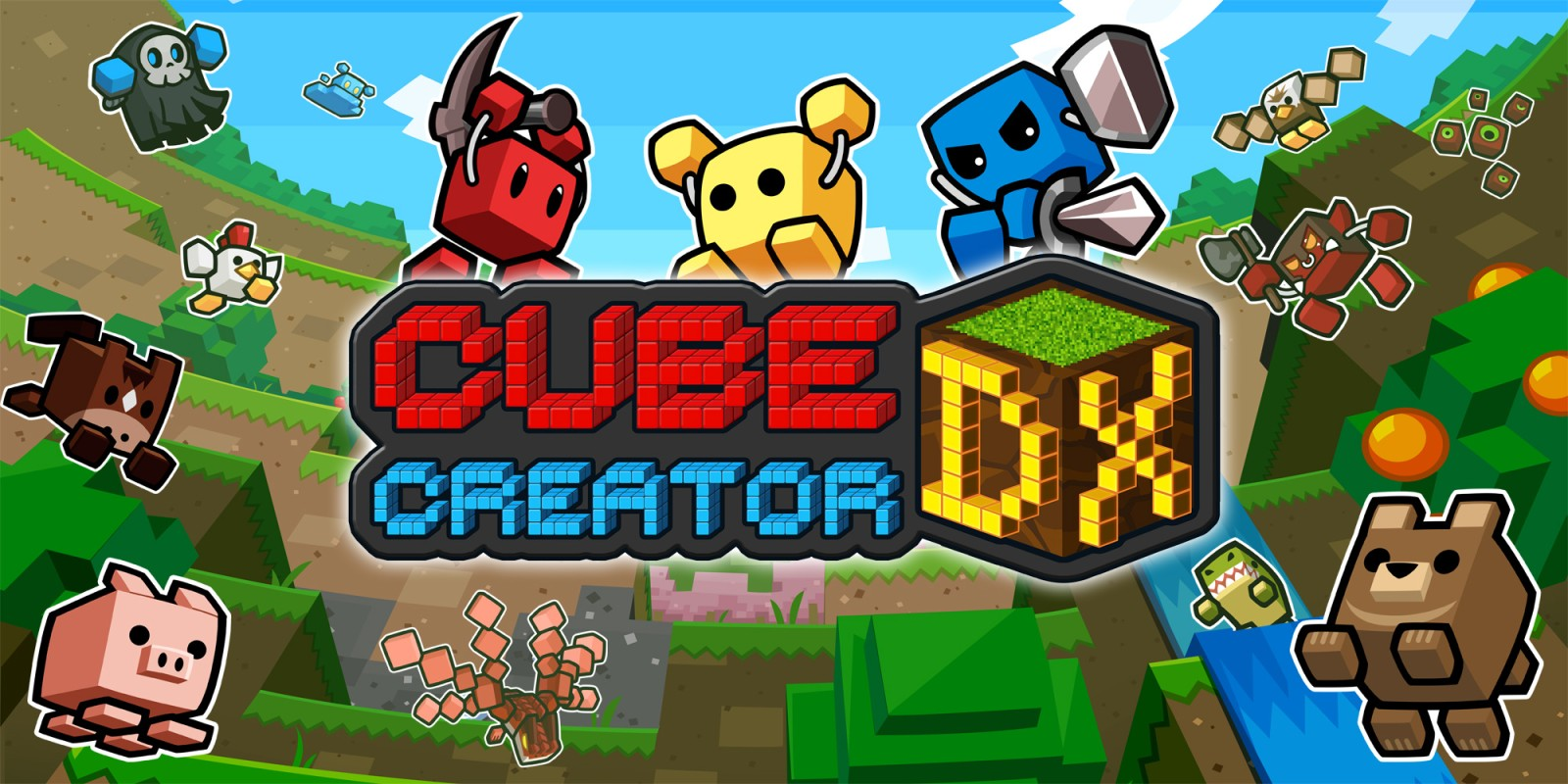 Cube Creator DX | Nintendo 3DS download software | Games