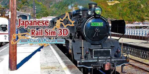 Japanese Rail Sim 3D Travel of Steam