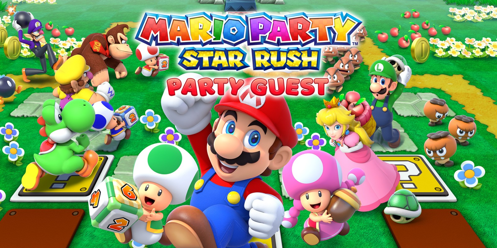 Mario Party: Star Rush - издание Party Guest