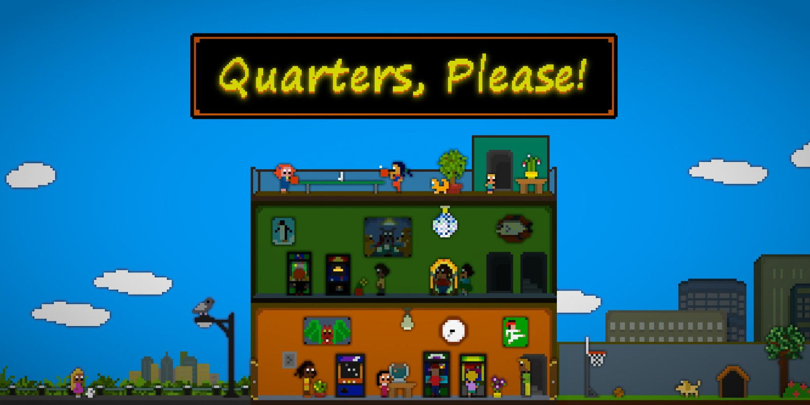 Quarters, Please!