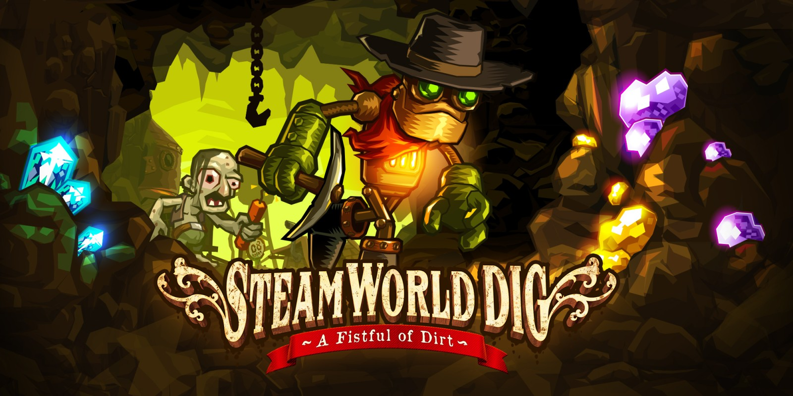 steamworld dig nintendo 3ds download software games