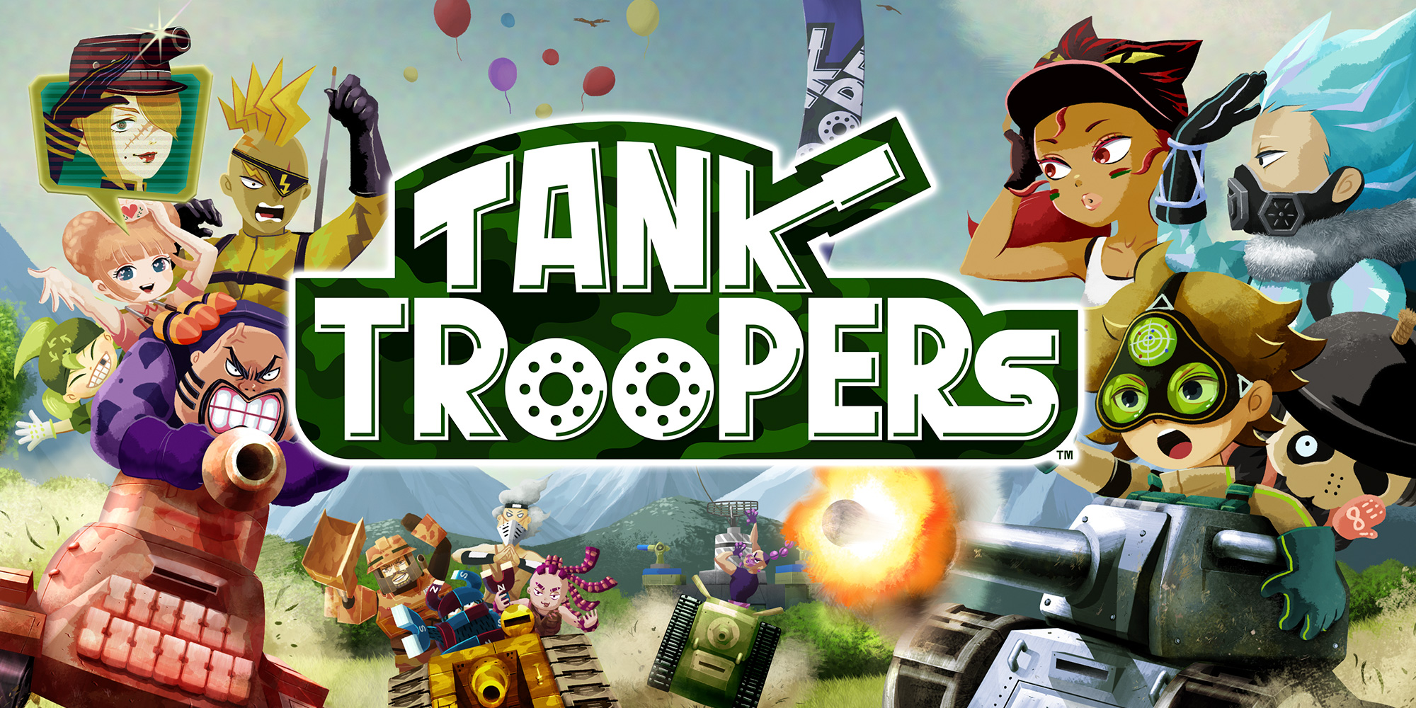 Geef acht! Begin je offensief op onze Tank Troopers-website