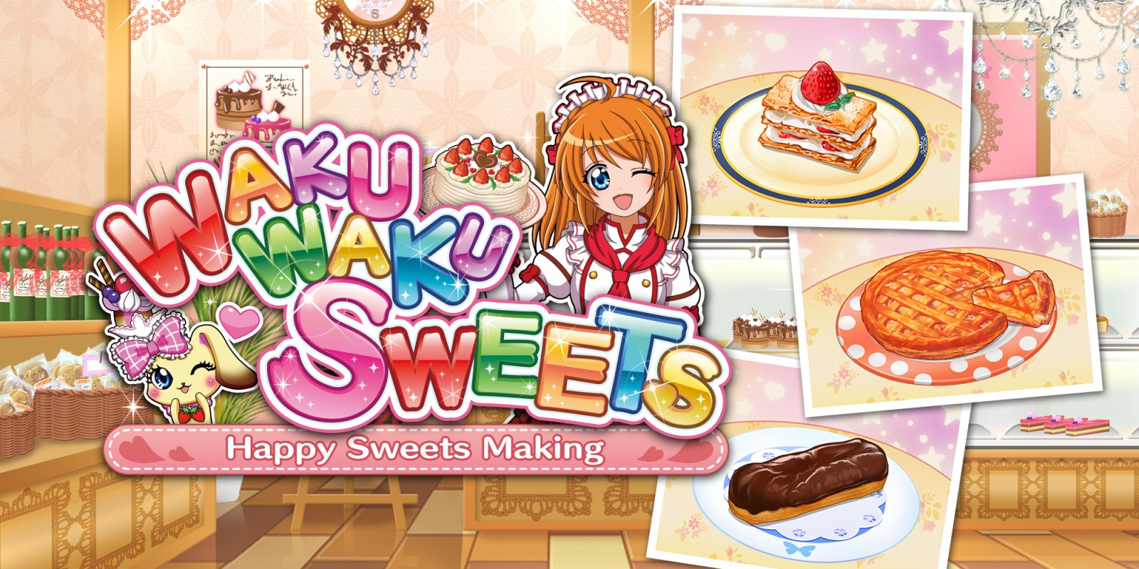 WAKU WAKU SWEETS: Happy Sweets Making