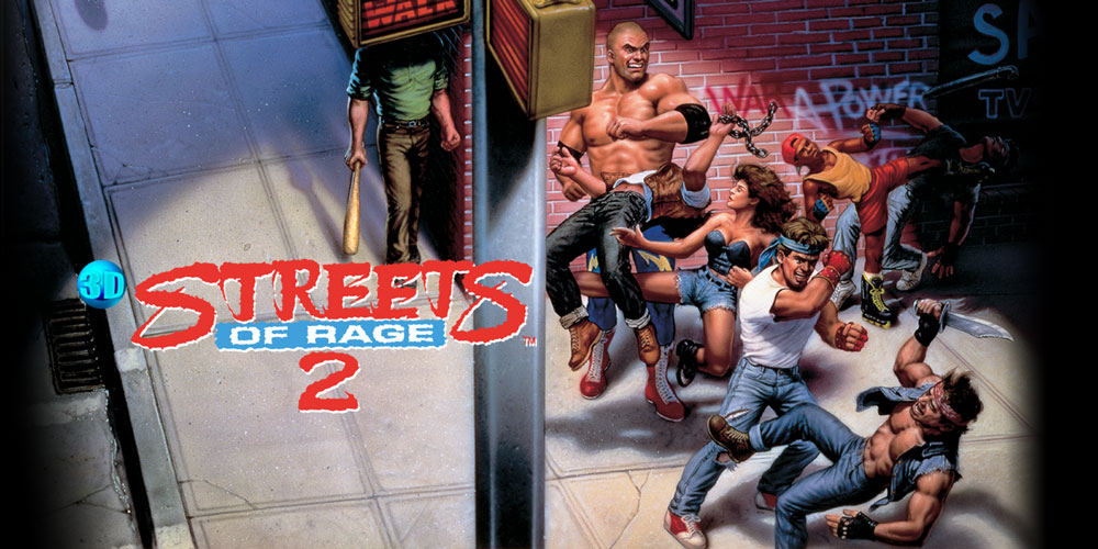 3D Streets Of Rage 2 Nintendo 3DS Download Software