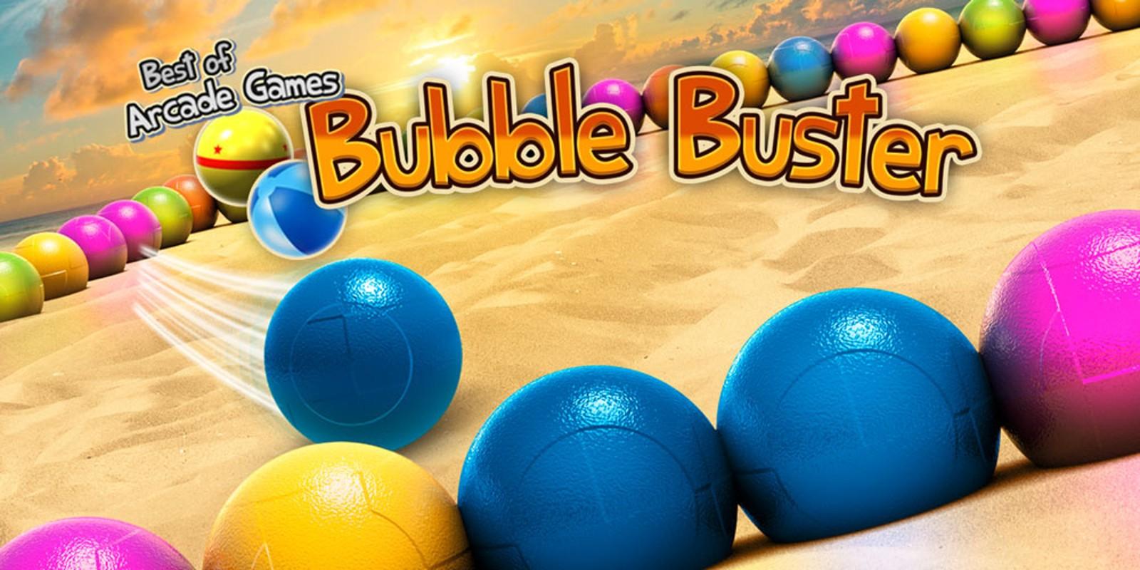 Coole Spiele Bubble Buster