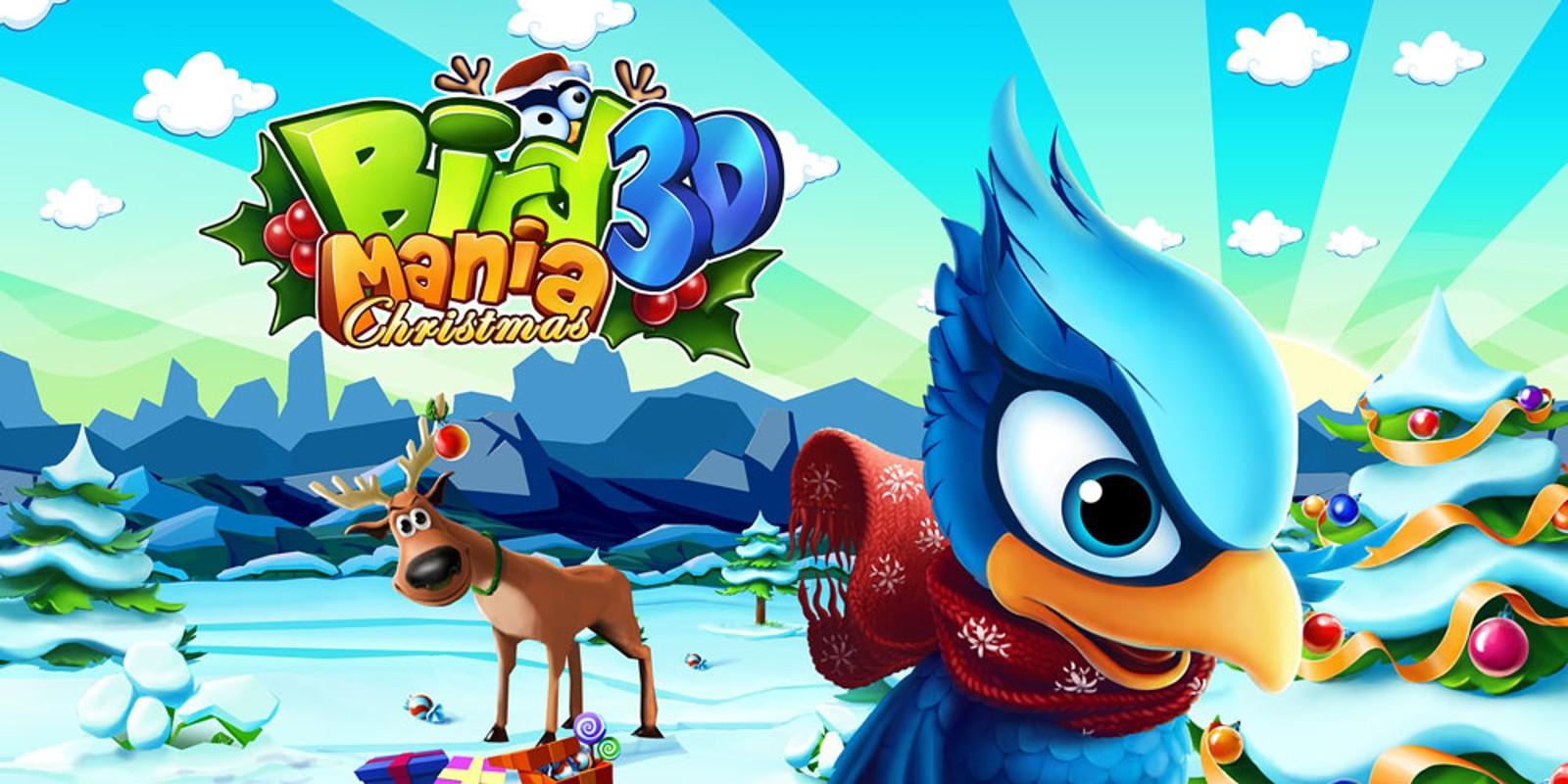 Bird Mania Christmas 3D | Nintendo 3DS download software | Games ...