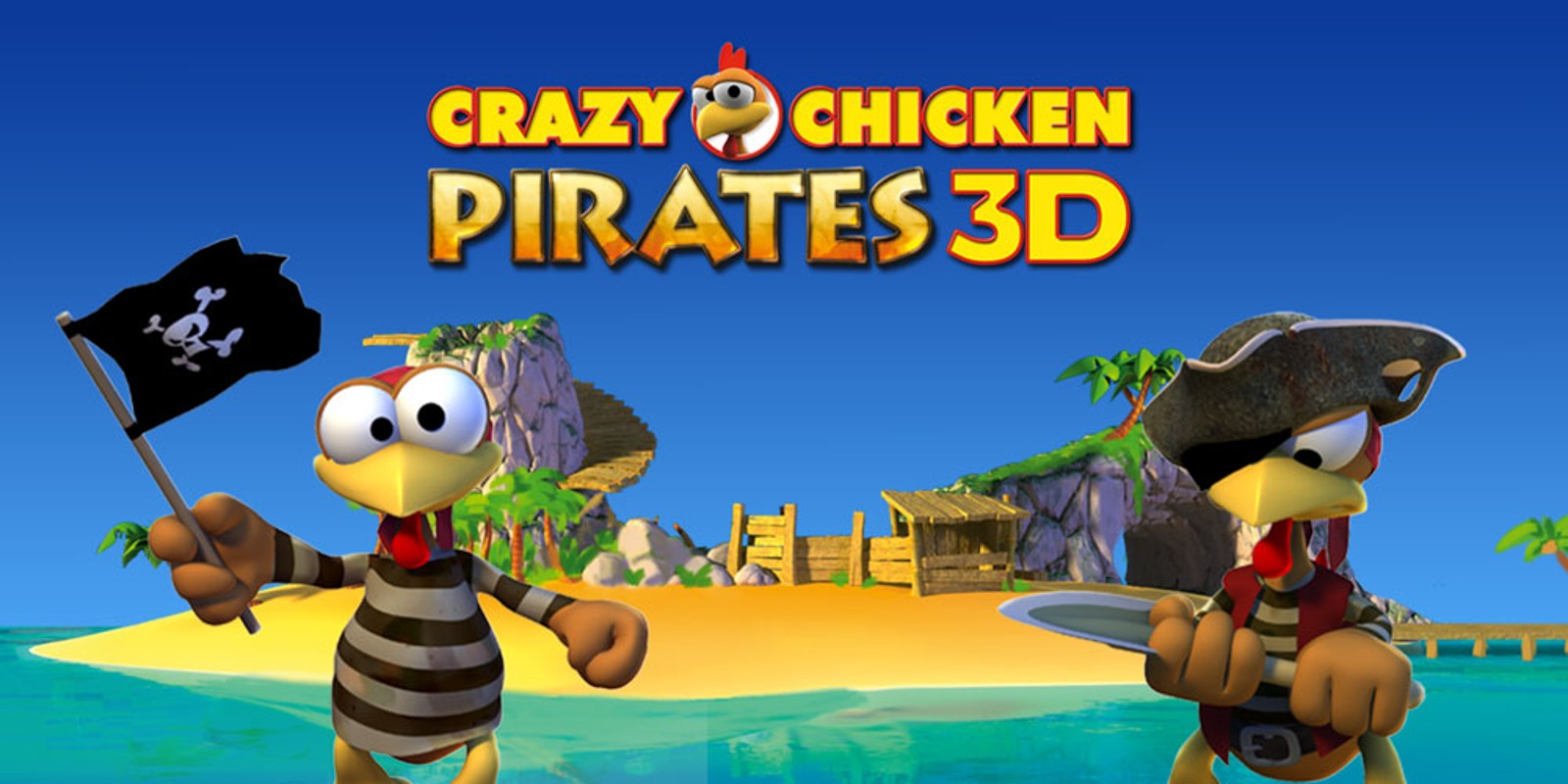 Crazy Chicken Pirates 3D