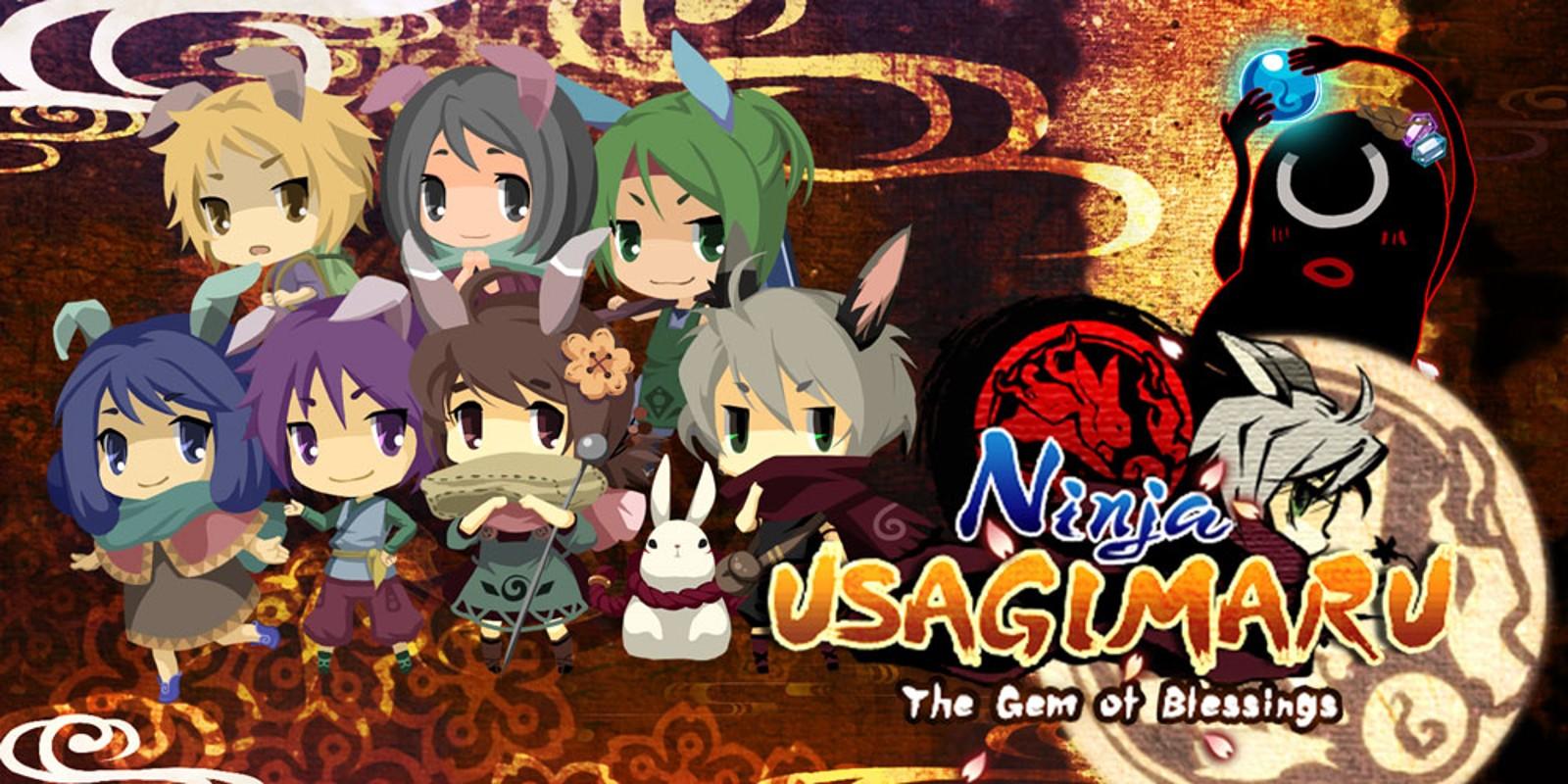 Ninja Usagimaru - The Gem of Blessings -   Nintendo 3DS