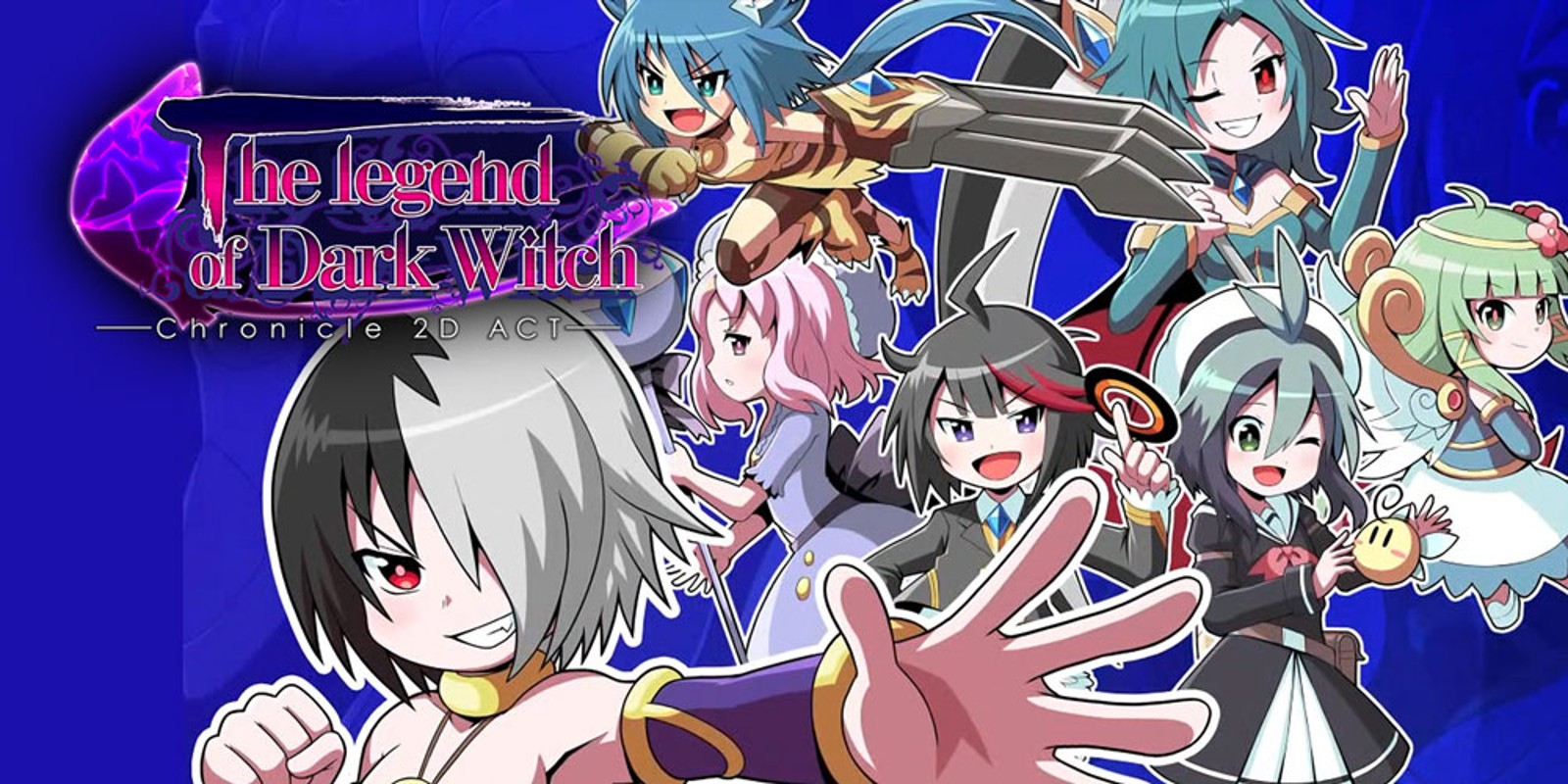 The Legend of Dark Witch - Chronicle 2D ACT