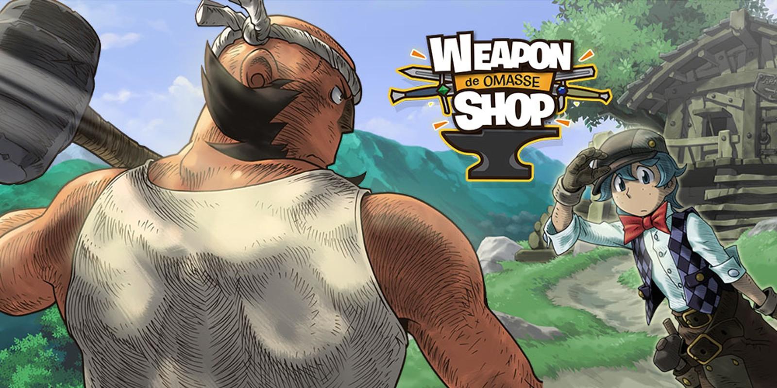 WEAPON SHOP de OMASSE™   Nintendo 3DS download software   Games   Nintendo