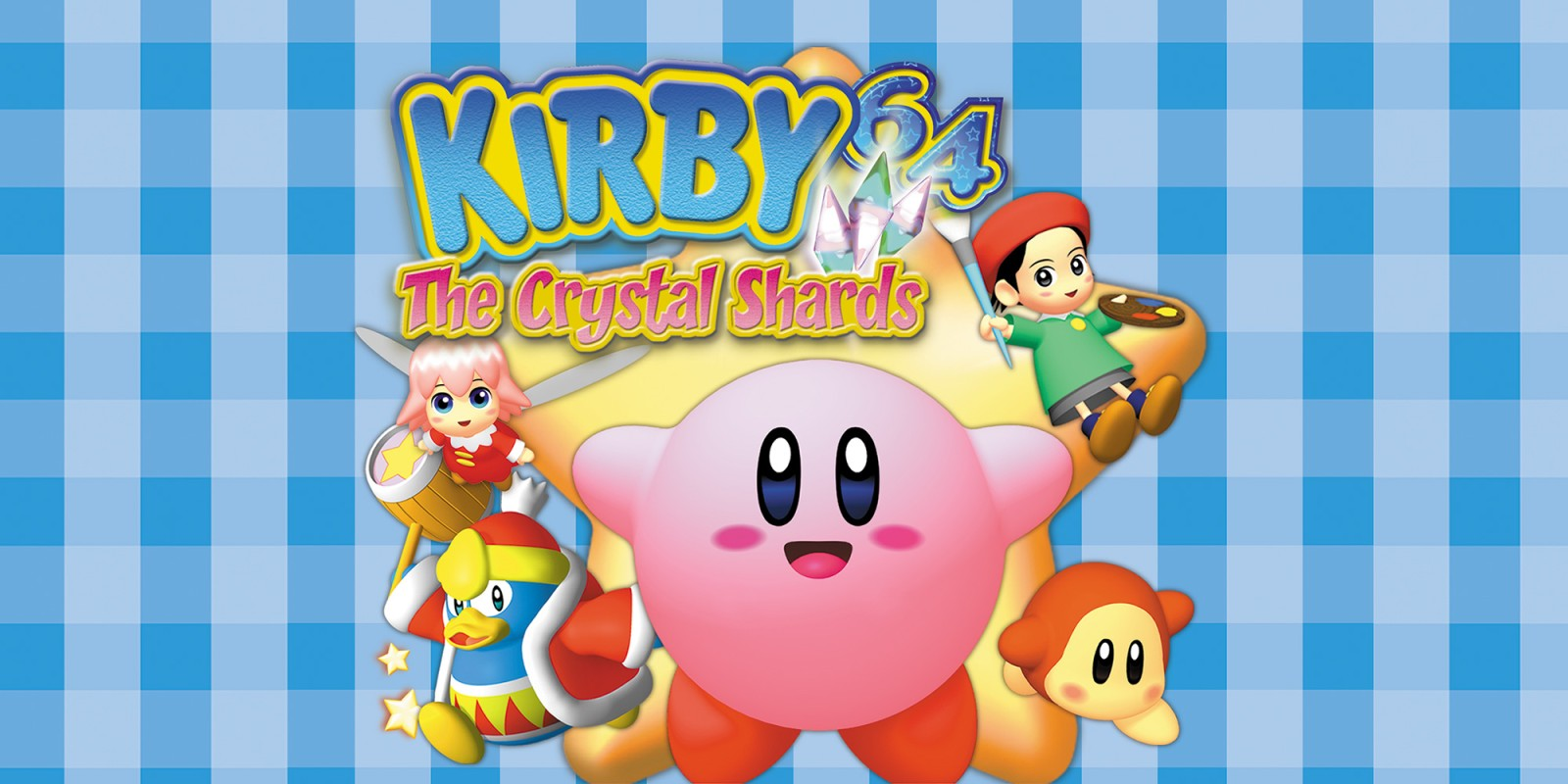 Kirby 64-cover game/ top game n64