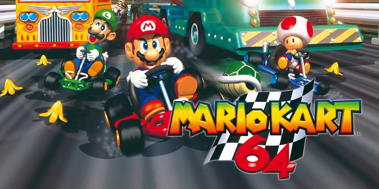 mario kart 64 nintendo 64 juegos nintendo. Black Bedroom Furniture Sets. Home Design Ideas