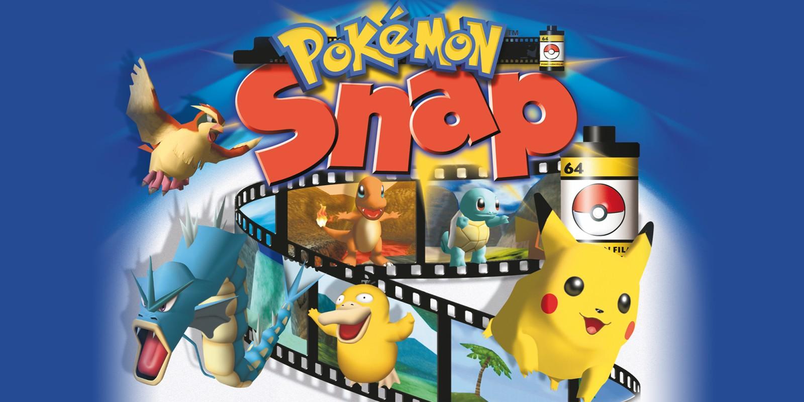 Pokemon Snap Nintendo 64 Juegos Nintendo