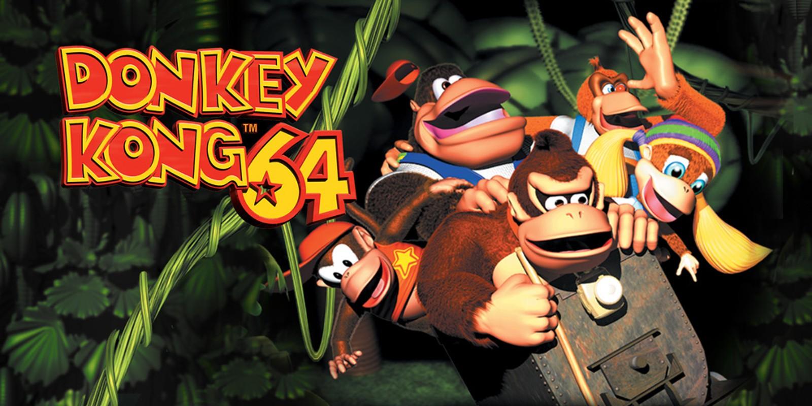 Donkey Kong 64-top melhor jogo de aventura do n64-best game 64