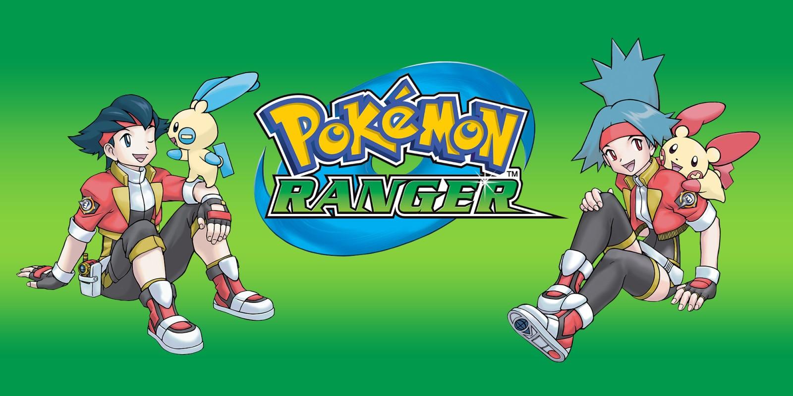Pok 233 Mon Ranger Nintendo Ds Games Nintendo