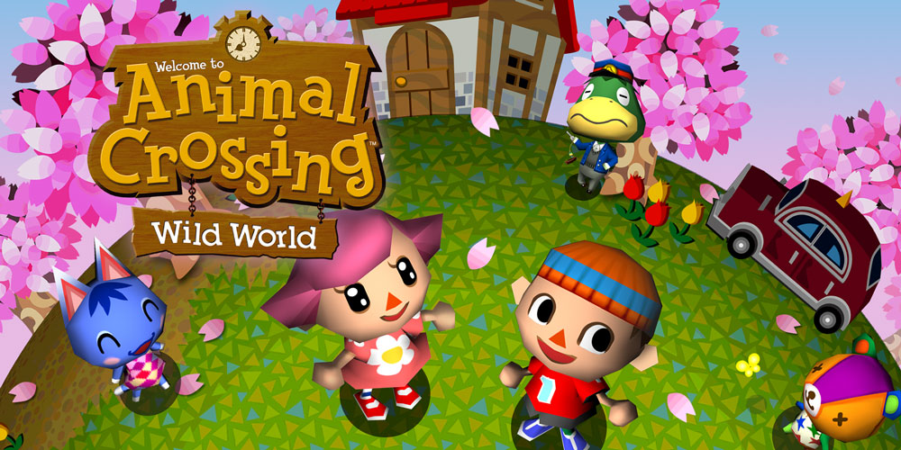 Animal Crossing Wild World Nintendo Ds Games Nintendo