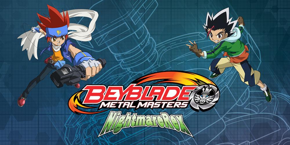 beyblade metal master nightmare rex nds