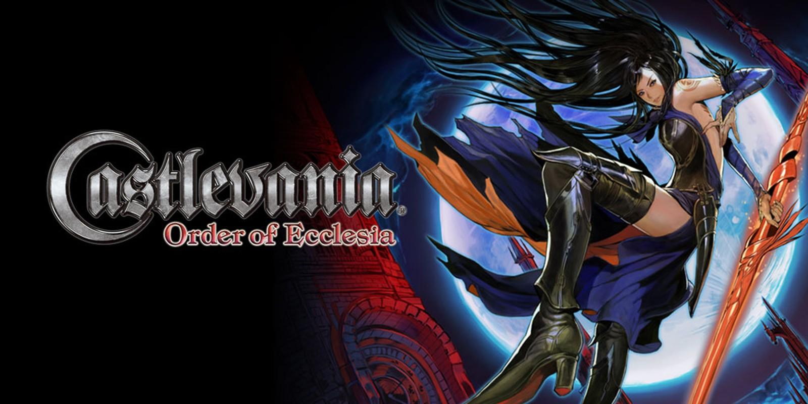 Castlevania Order Of Ecclesia Nintendo Ds Games