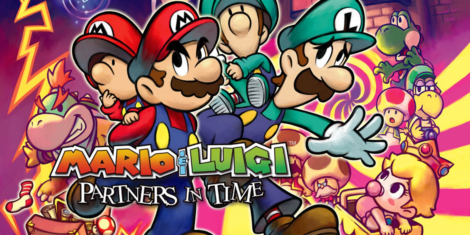 Mario & Luigi Partners in Time