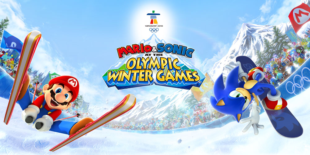Mario & Sonic at the Olympic Winter Games for Nintendo DS ...