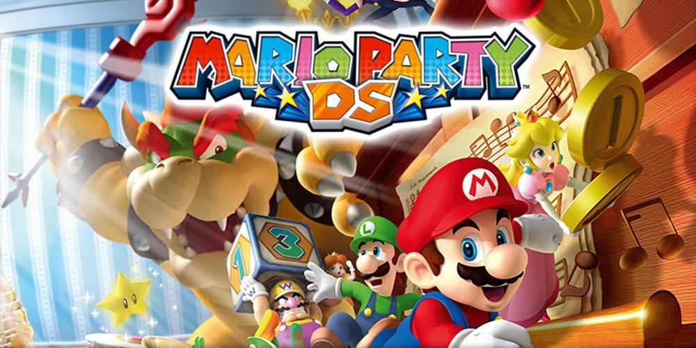 Mario Party Ds Nintendo Ds Juegos Nintendo