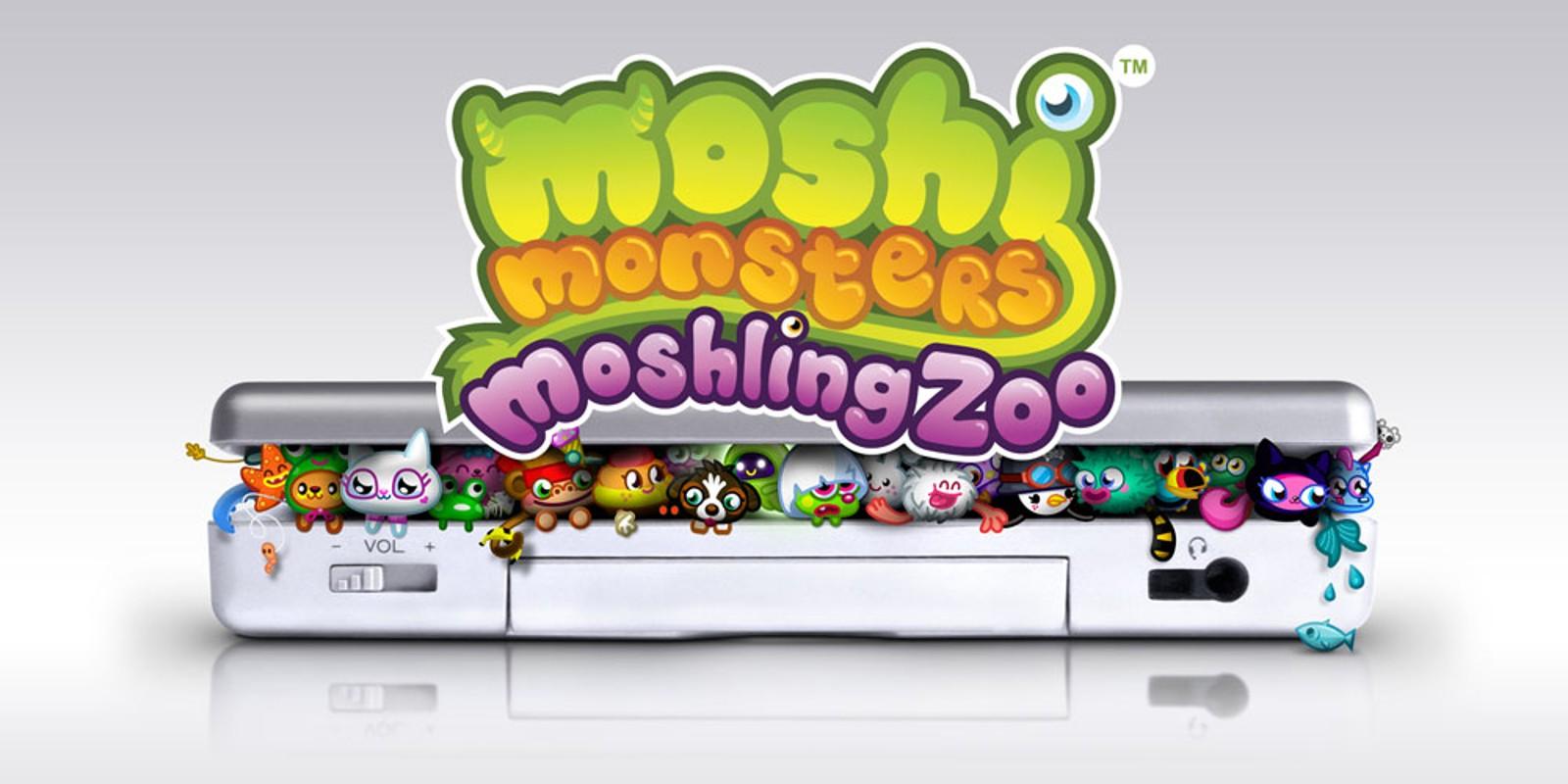 Moshi Monsters Moshling Zoo Nintendo DS Games Nintendo