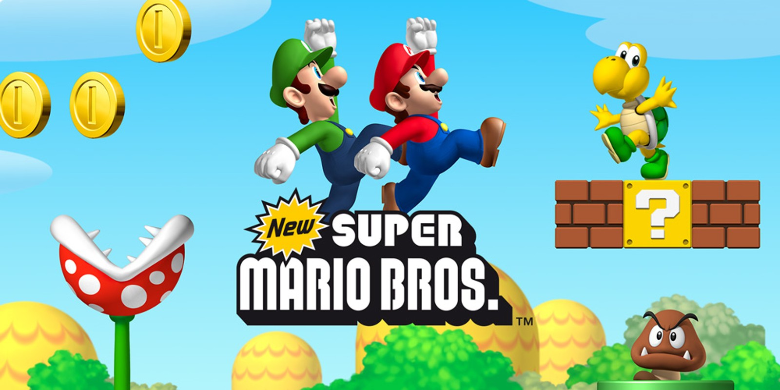 New Super Mario Bros  | Nintendo DS | Games | Nintendo
