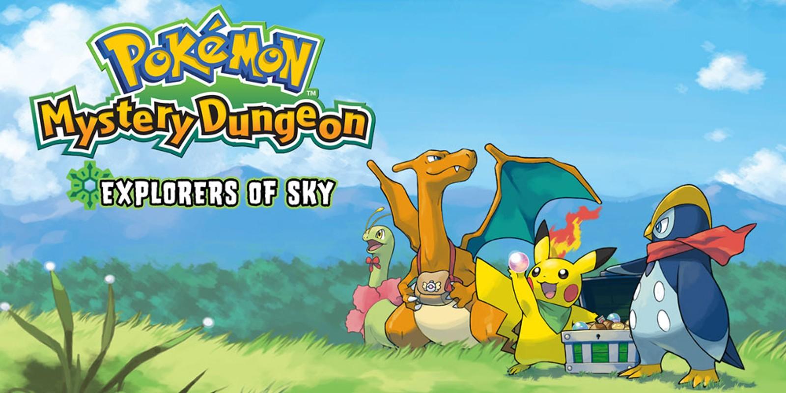 Pokmon Mystery Dungeon Explorers Of Sky Nintendo DS