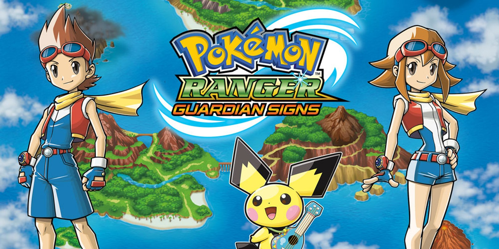 Nintendo Ds Pokemon Games : Pokémon ranger guardian signs nintendo ds games