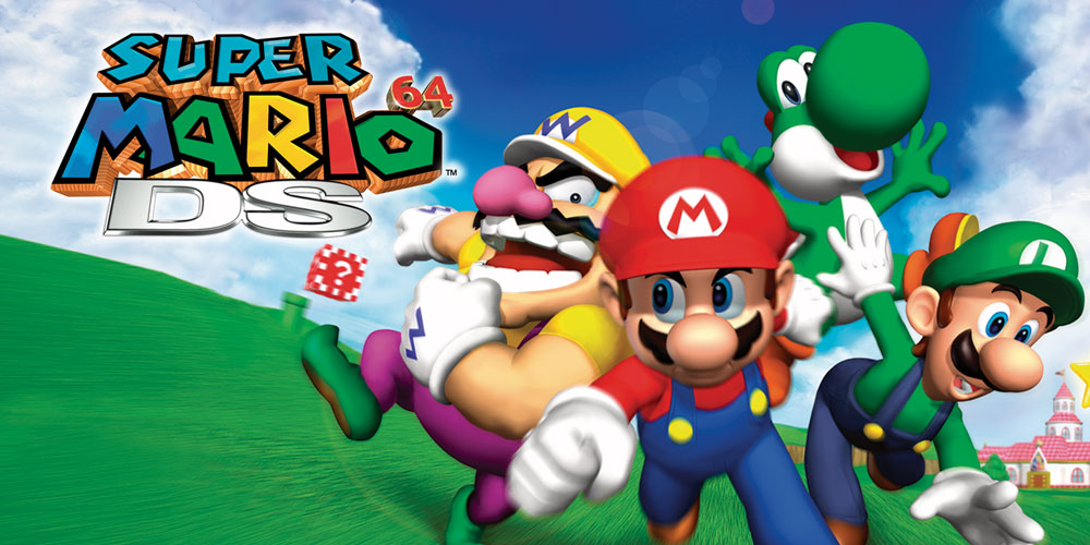 Super Mario 64 Ds Nintendo Ds Juegos Nintendo
