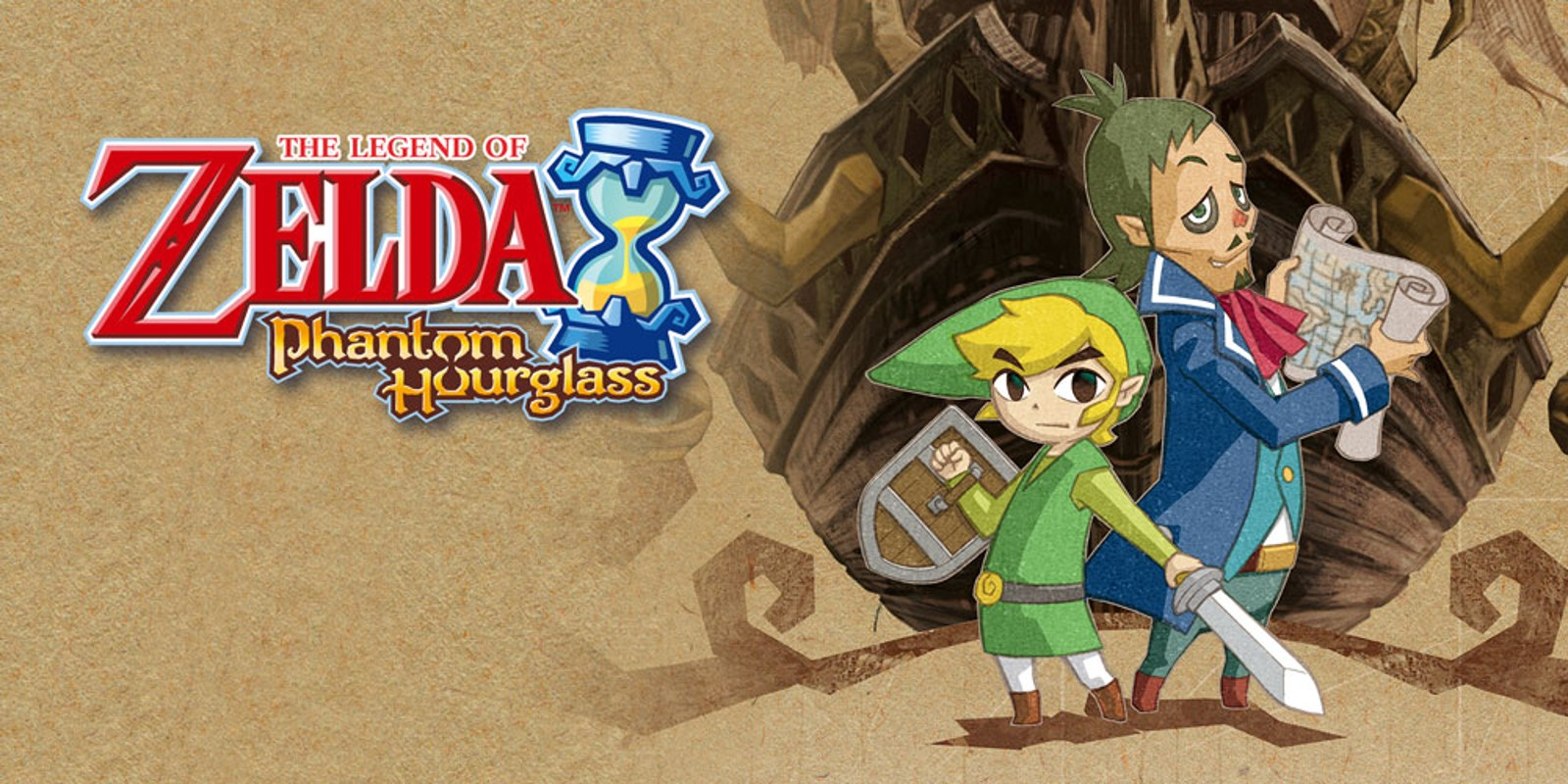 The Legend Of Zelda Phantom Hourglass Nintendo Ds Games