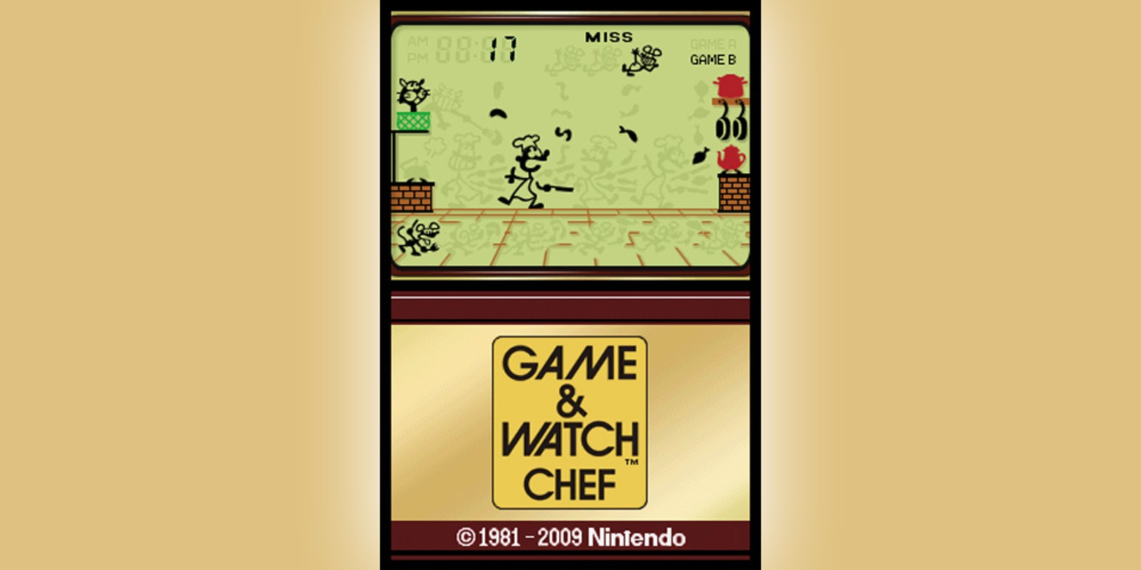 Game & Watch™ Chef