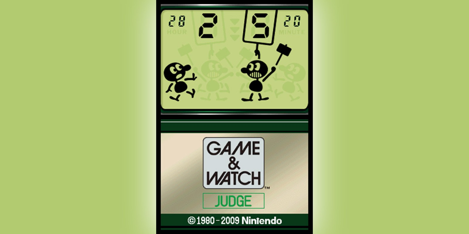 Game & Watch™ Judge