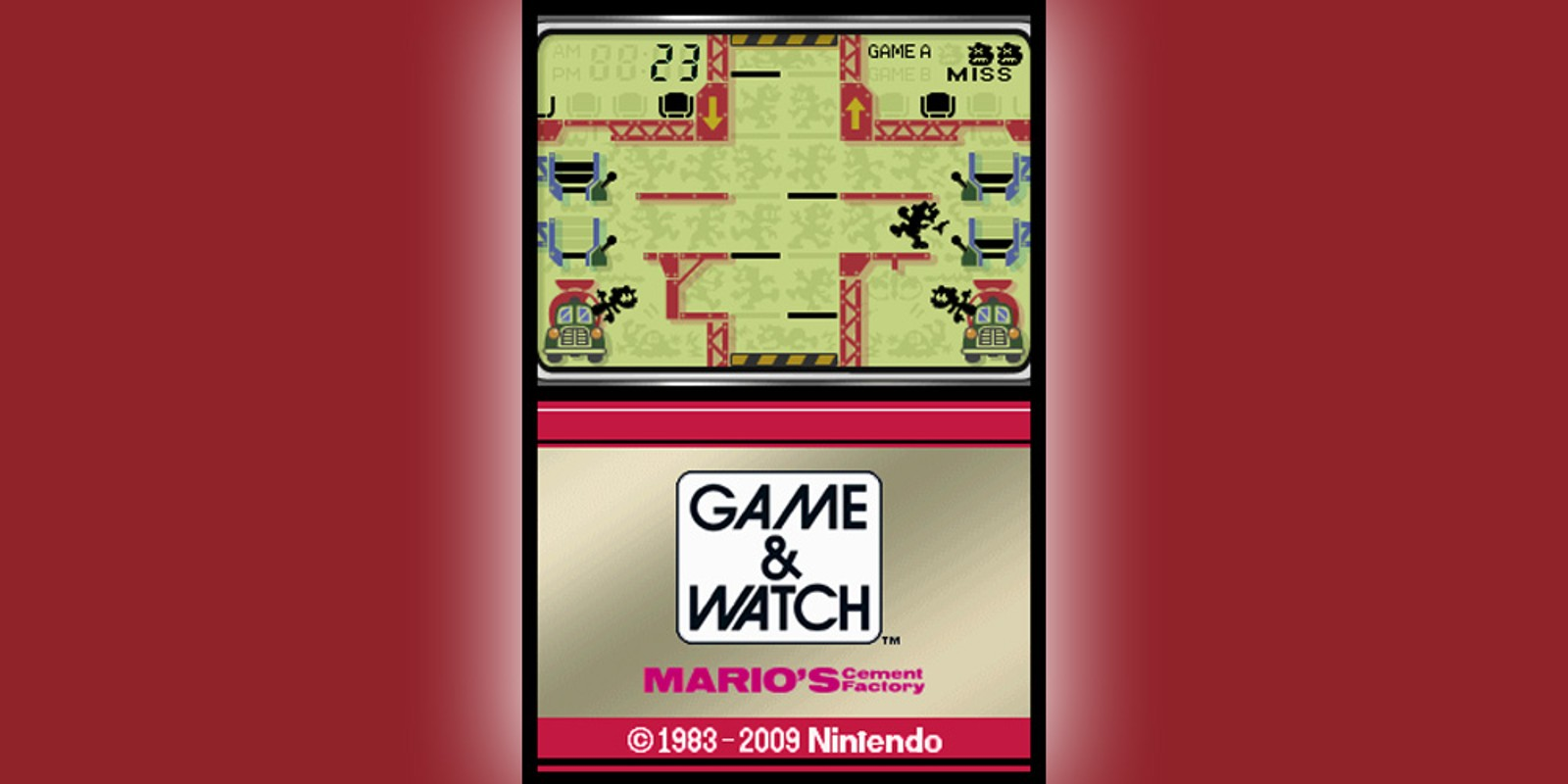 Game & Watch™ Mario's Cement Factory