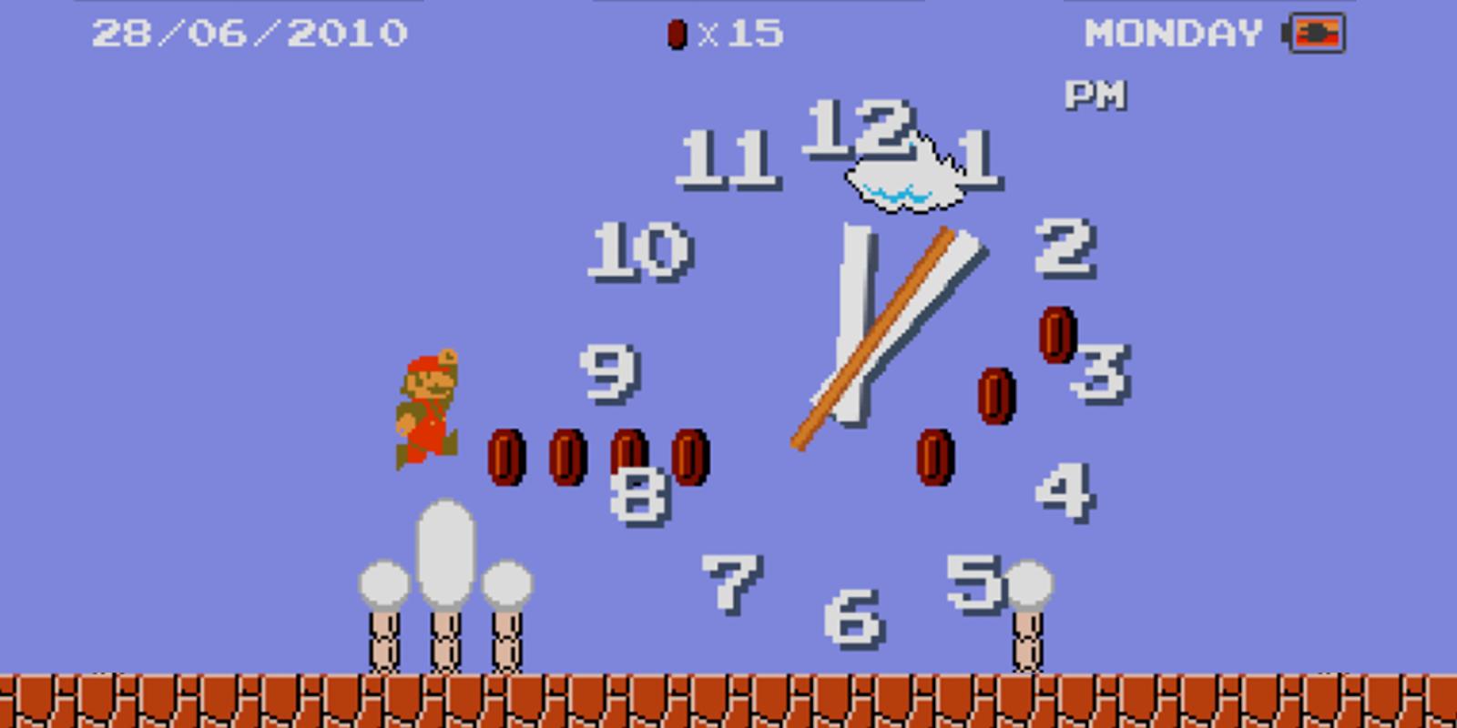 Mario™ Clock | Nintendo DSiWare | Games | Nintendo