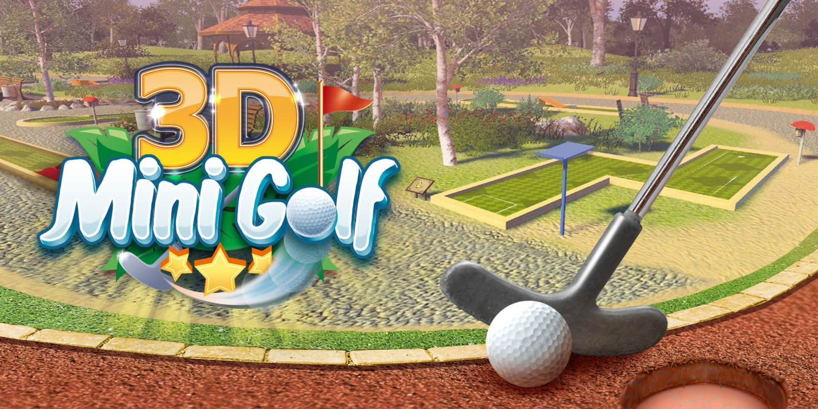 3d minigolf nintendo switch juegos nintendo. Black Bedroom Furniture Sets. Home Design Ideas