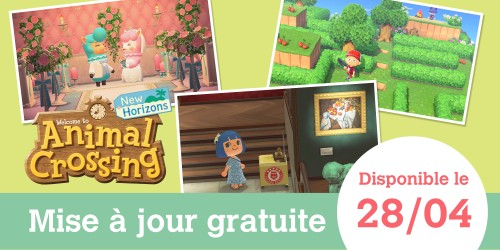 Une nouvelle mise à jour gratuite d'Animal Crossing: New Horizons arrive le 28 avril !