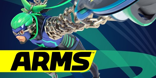 In shops and on Nintendo eShop now: ARMS