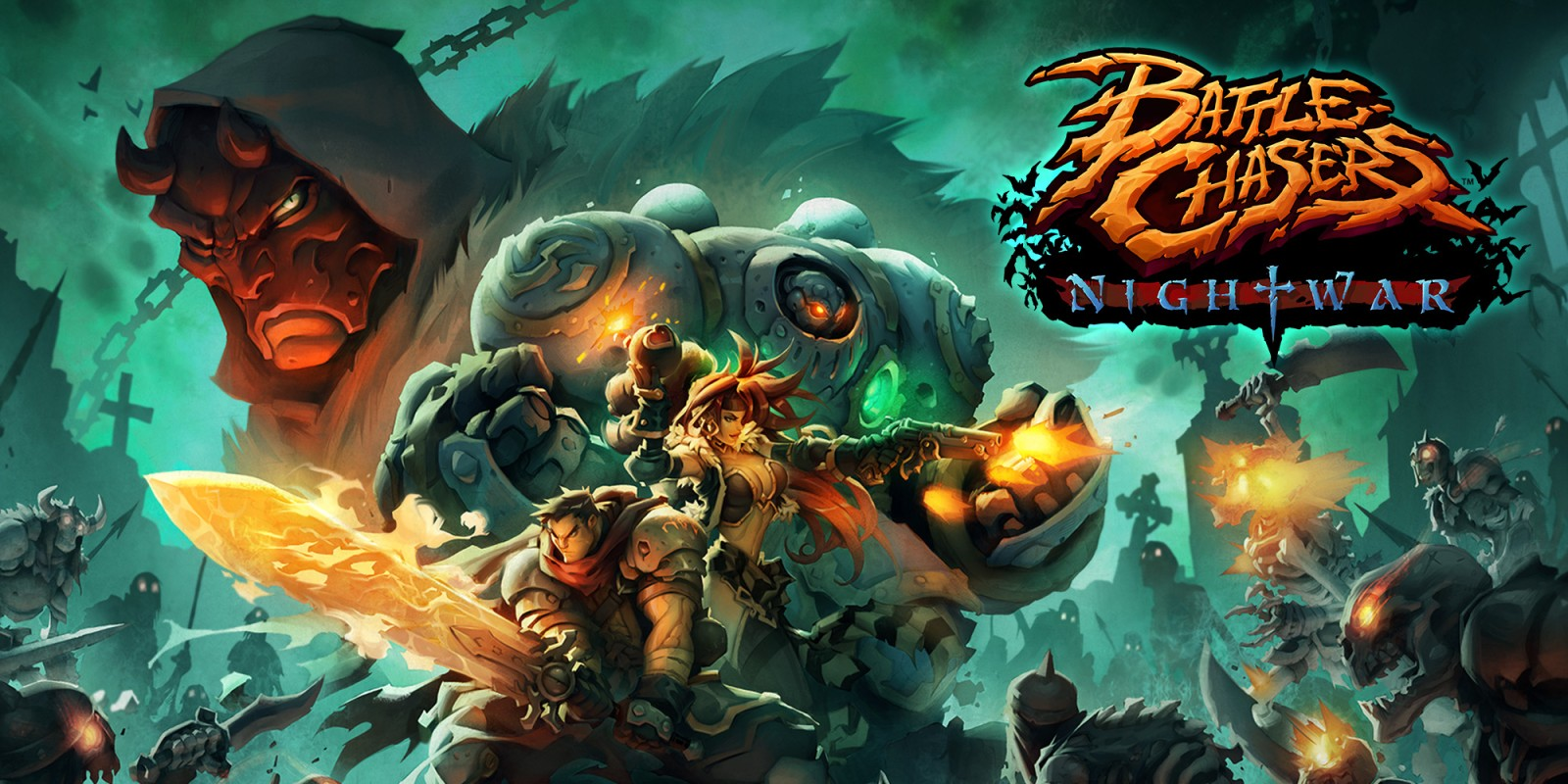 Image result for battle chasers nightwar switch