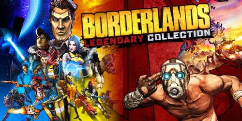 Pre-order Borderlands Legendary Collection or BioShock: The Collection to be in with a chance of winning great prizes with the Nintendo Official UK Store
