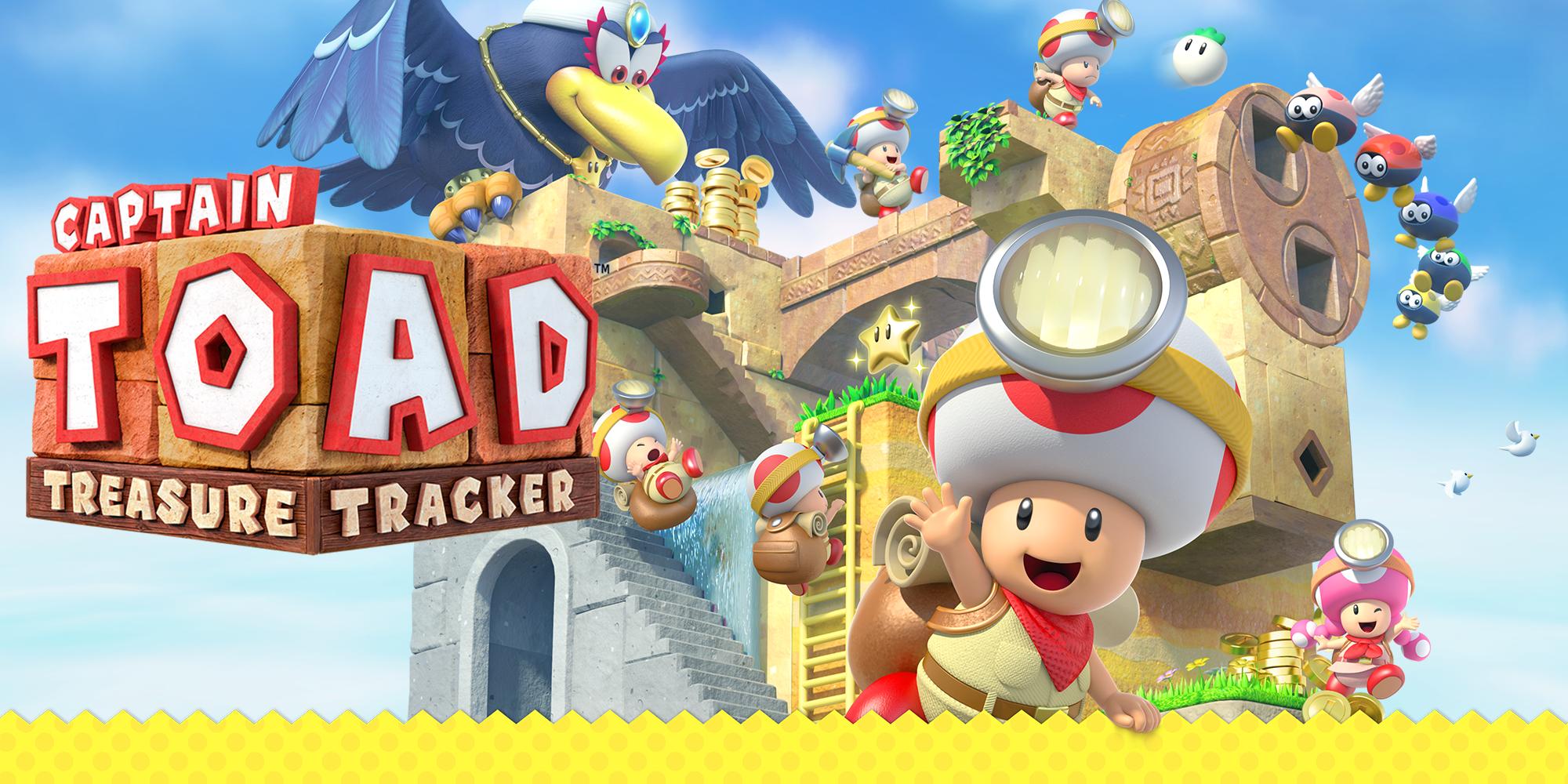 Resultado de imagen de portada videojuego Captain Toad: Treasure Tracker nintendo switch