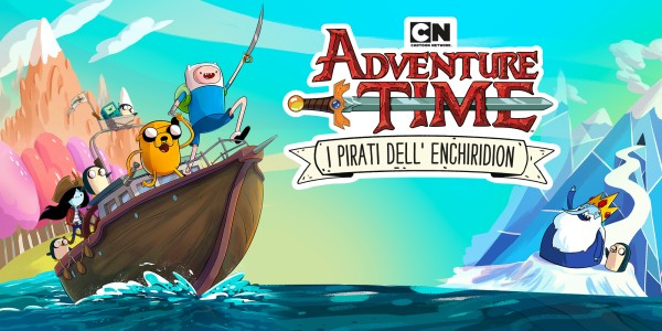 Cartoon Network Adventure Time: I Pirati dell' Enchiridion