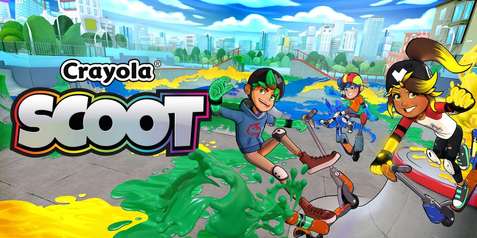 Crayola Scoot Nintendo Switch Games Nintendo
