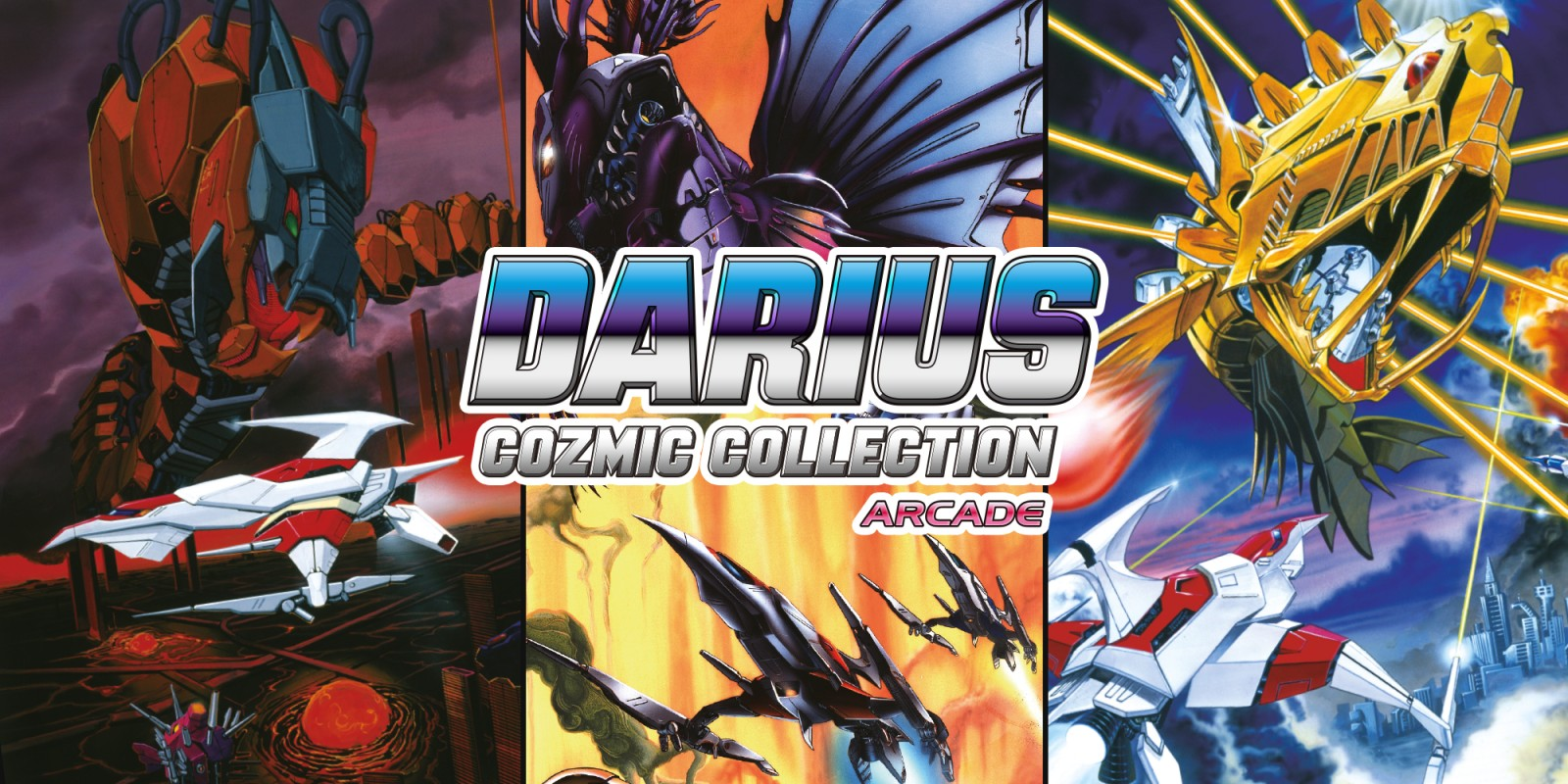 Darius Cozmic Collection Arcade