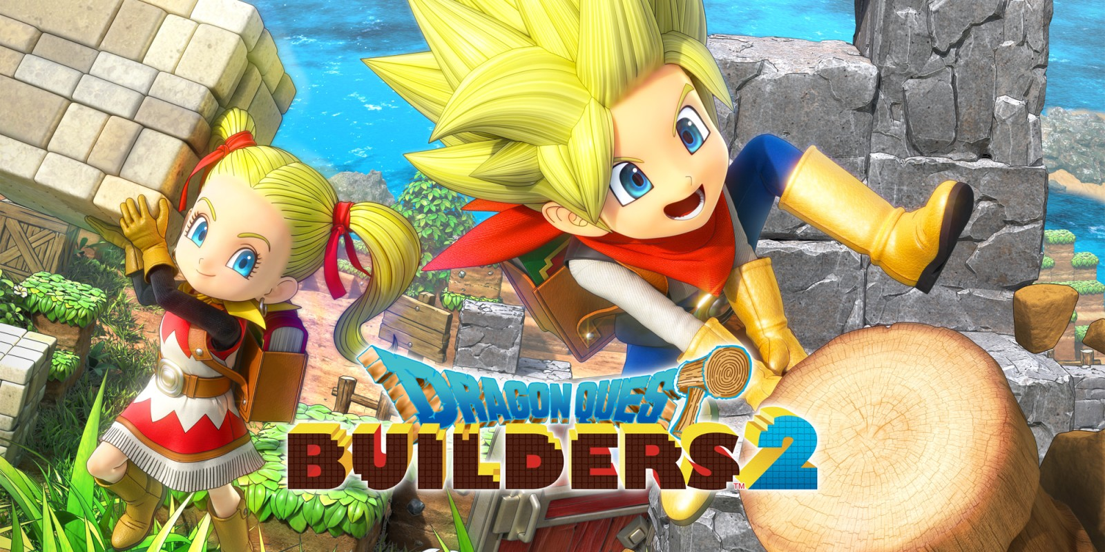 Dragon Quest Builders 2 Saldrá en PC