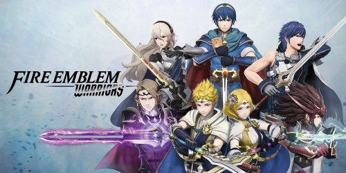 In shops and on Nintendo eShop now: Fire Emblem Warriors