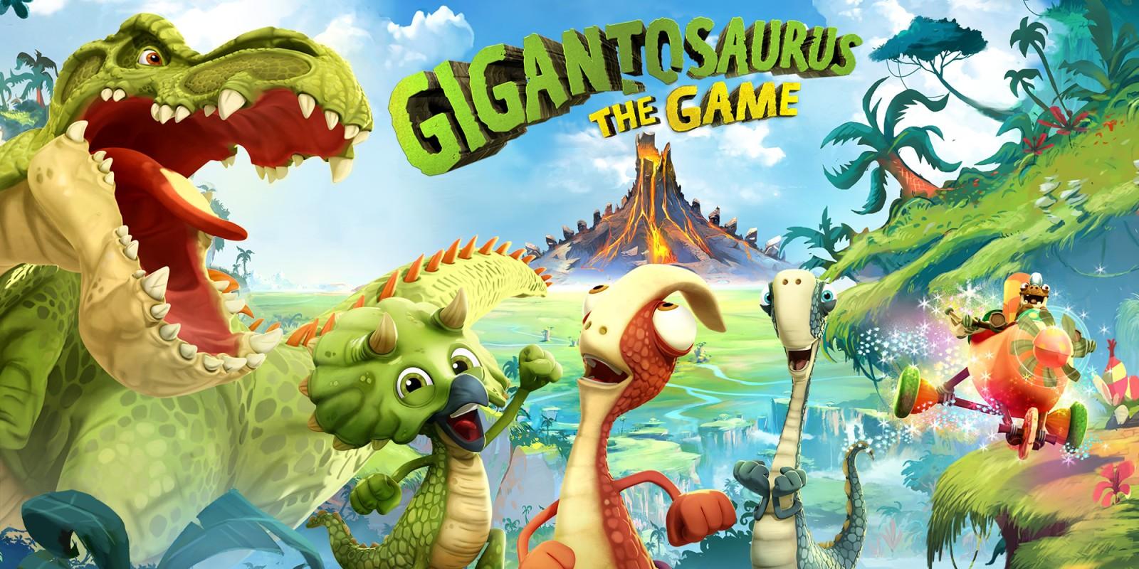 Δείτε το Gigantosaurus !