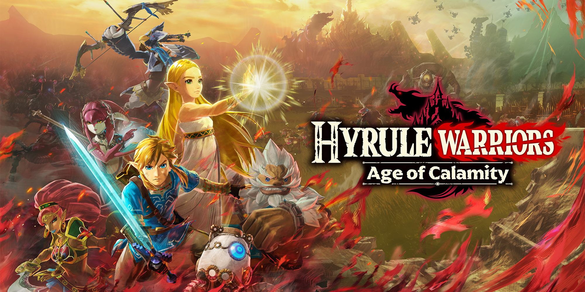 Hyrule Warriors: Age of Calamity | Nintendo Switch | Jogos | Nintendo